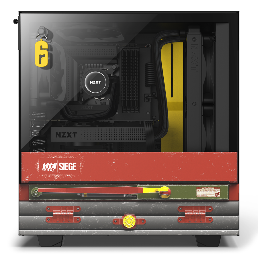 NZXT Launches Rainbow 6 Siege Themed Limited Edition Case NZXT 3