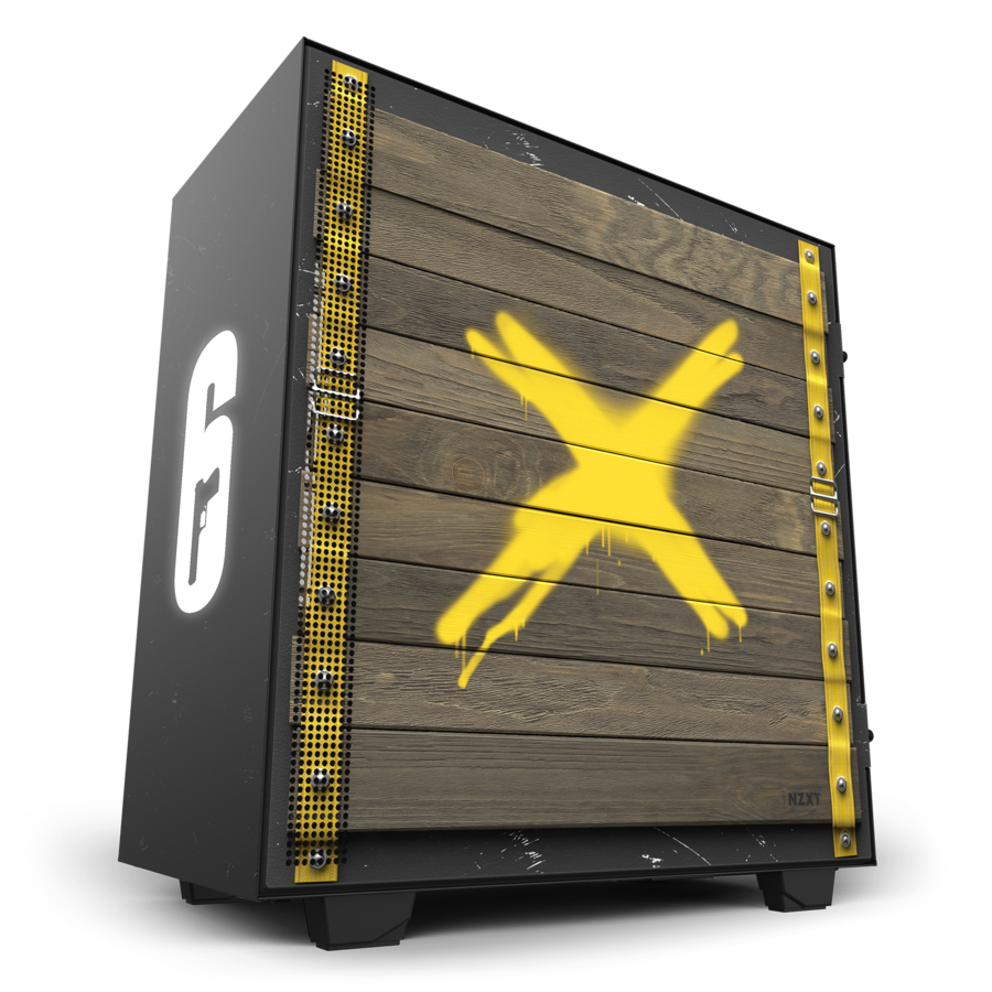 NZXT Launches Rainbow 6 Siege Themed Limited Edition Case NZXT 4