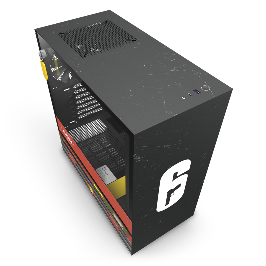 NZXT Launches Rainbow 6 Siege Themed Limited Edition Case NZXT 2