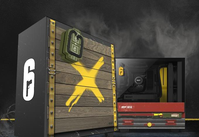 Photo of NZXT Launches Rainbow 6 Siege Themed Limited Edition Case