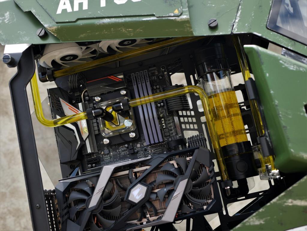 Thermaltake AH T600 Case Mod Apache - Case Mod Monday Case, Case Mod, case mod monday, Thermaltake 6