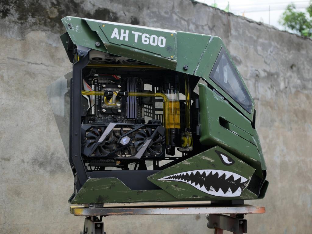 Thermaltake AH T600 Case Mod Apache - Case Mod Monday Case, Case Mod, case mod monday, Thermaltake 10