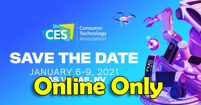 CES 2021 Is Going All-Digital