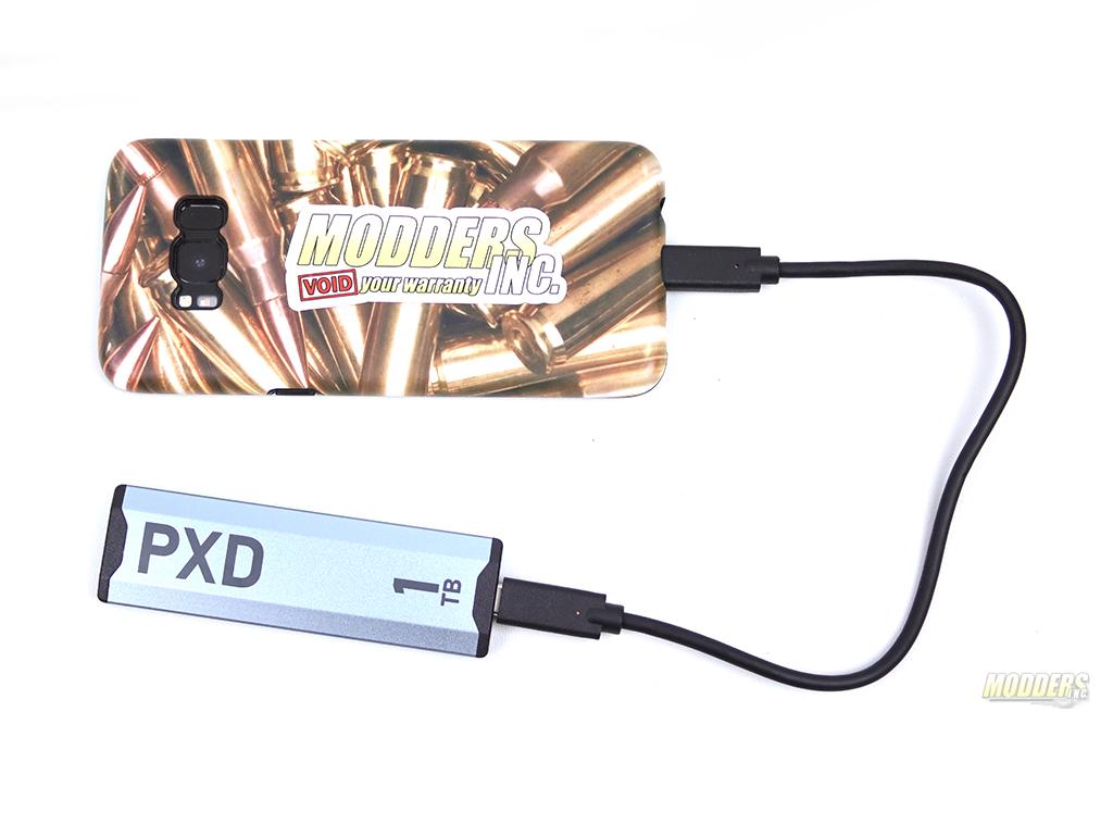 Patriot PXD M.2 PCIE TYPE-C EXTERNAL SSD 1TB, 3.2 USB, Gen 2, m.2, Patriot, portable ssd, type-C, Type-C 3.2 USB Gen 2, USB 3.1 Gen 2 1