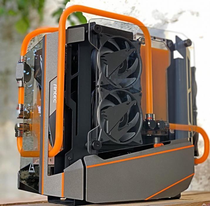 LIMBO - Case Mod Monday Aorus, Case Mod, case mod monday, Case Modder, EK, EKWB, Intel 8