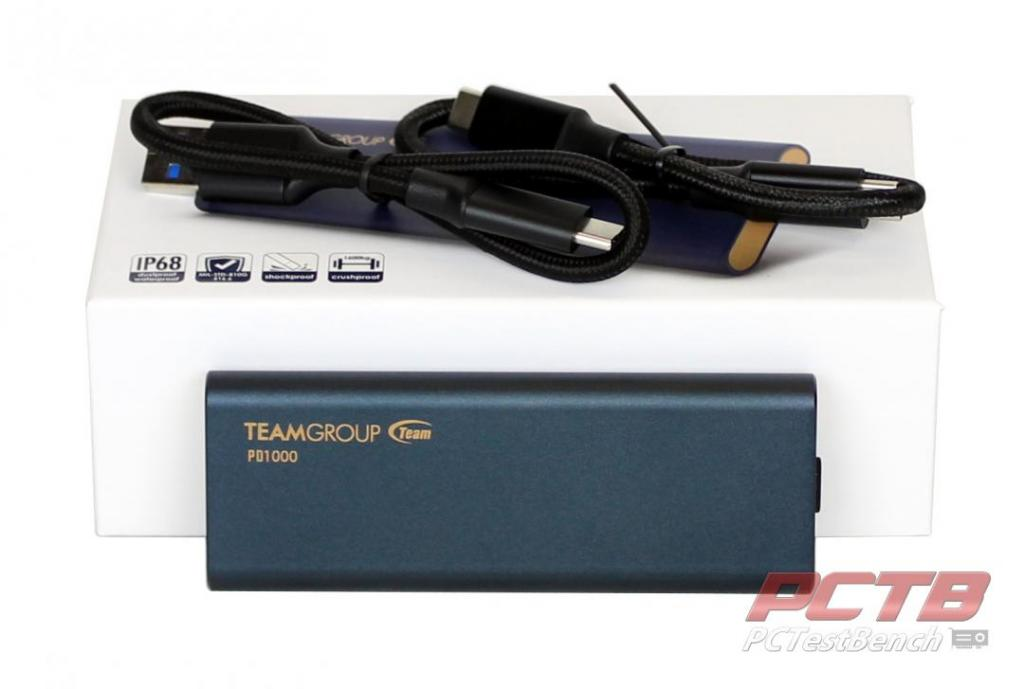 TEAMGROUP PD1000 PORTABLE SSD