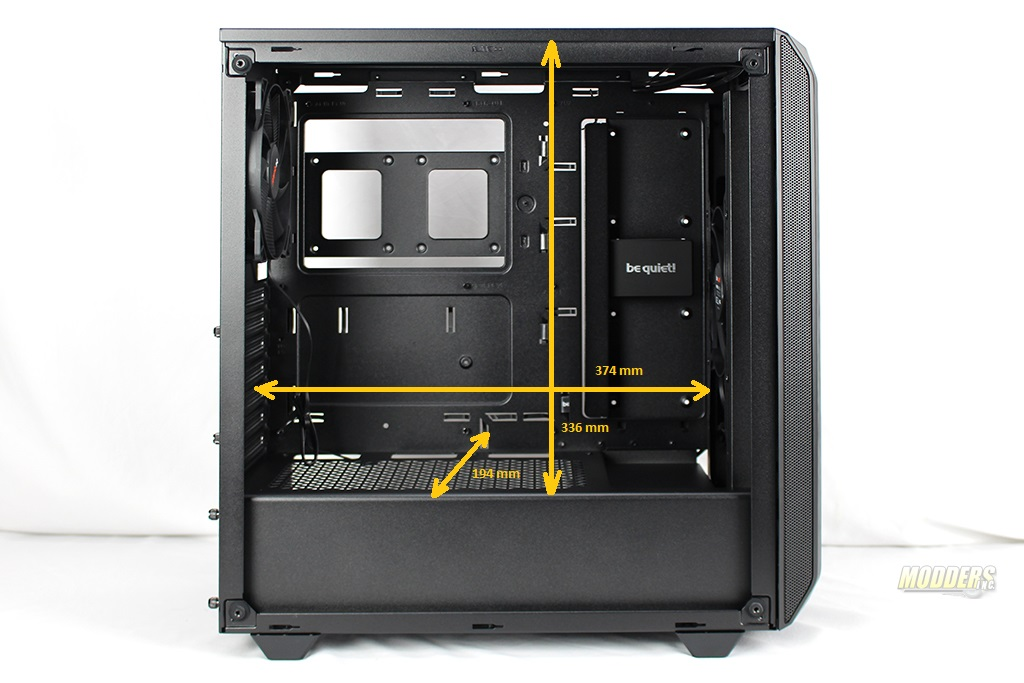 be quiet! Pure Base 500 Window Black: Review 2 2