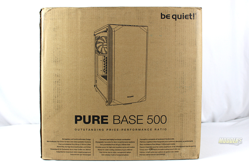 be quiet! Pure Base 500 Window Black: Review IMG 0361