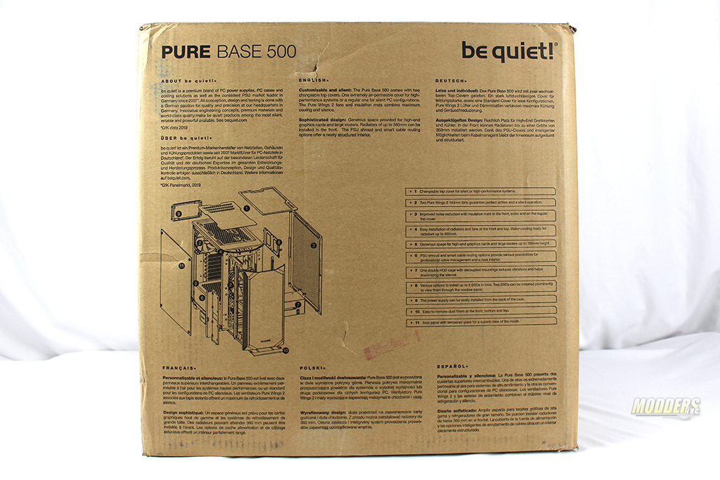 be quiet! Pure Base 500 Window Black: Review IMG 0363