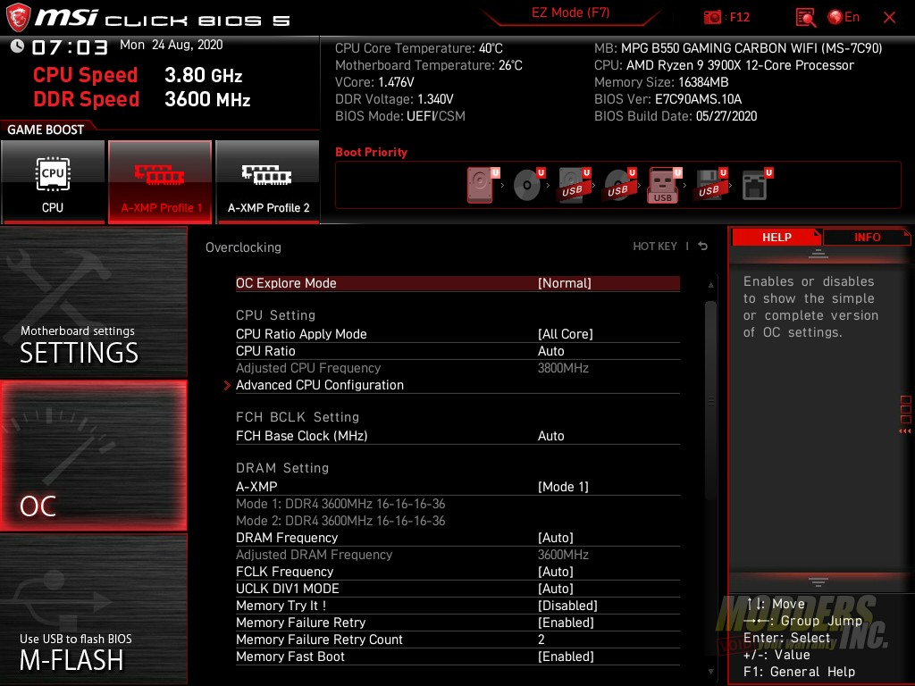 B550 Gaming Carbon