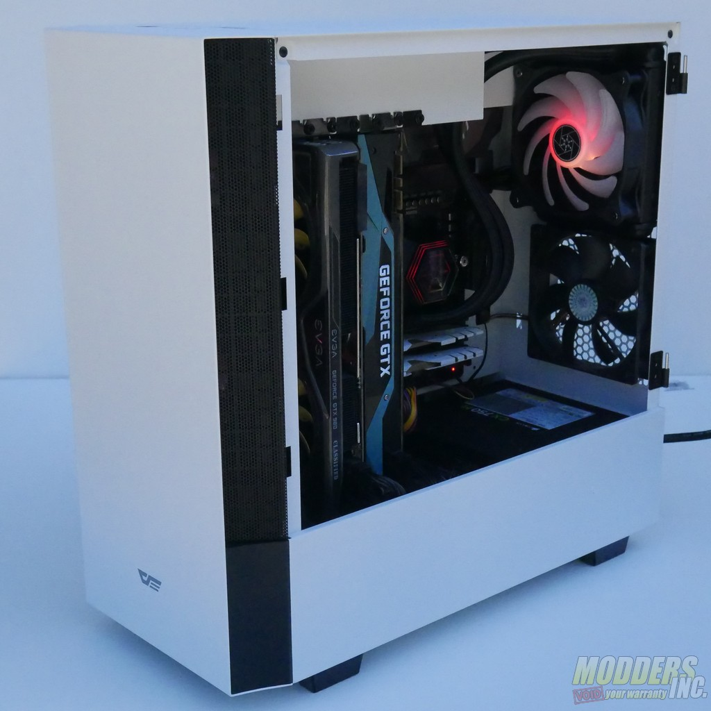 darkFlash V22 White Mid Tower ATX Case Review