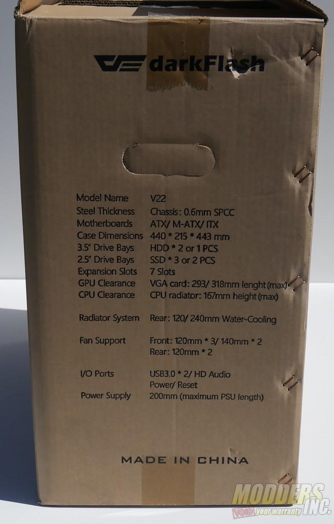 darkFlash V22 White Mid Tower ATX Case Review darkFlash V22 Case 11