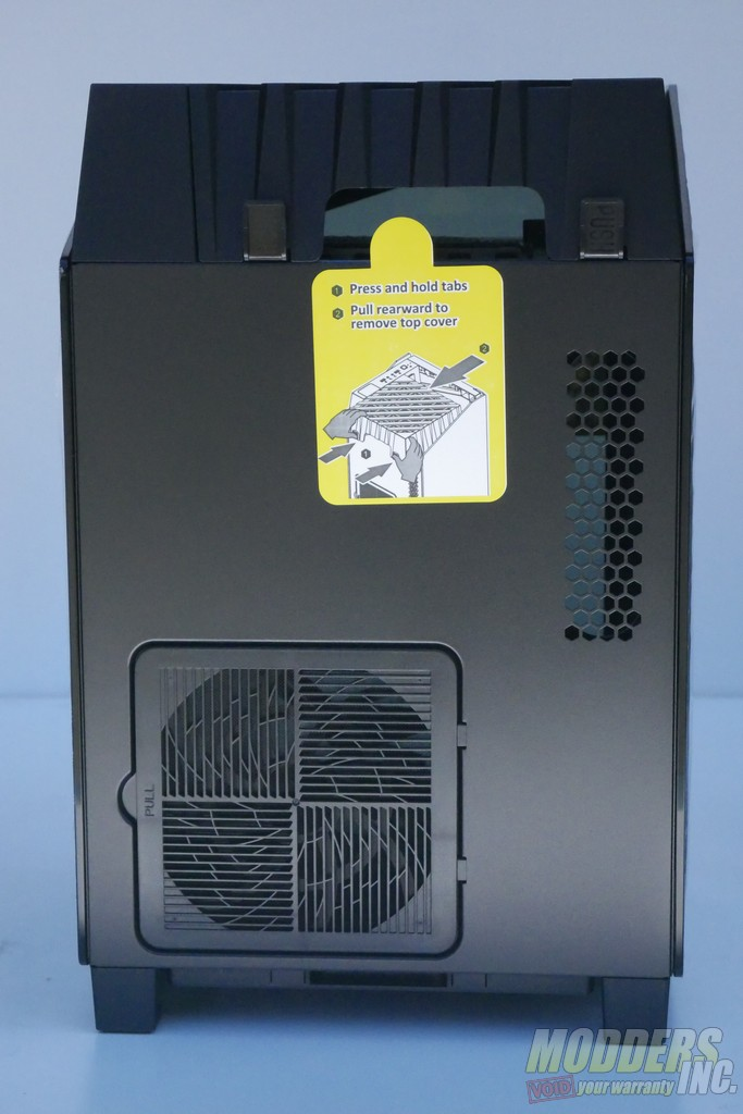 Silverstone LD03-AF ITX Case Review itx, ITX Case, pc case, SilverStone, tempered glass 5