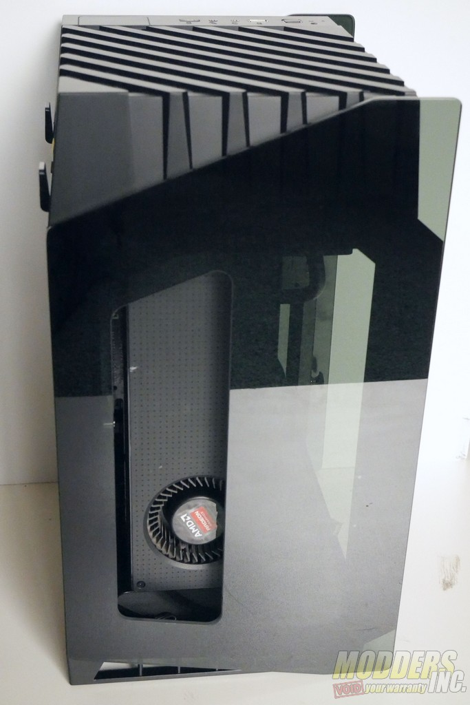 Silverstone LD03-AF ITX Case Review itx, ITX Case, pc case, SilverStone, tempered glass 6