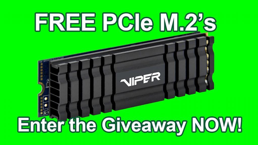 VIPER M.2 Giveaway