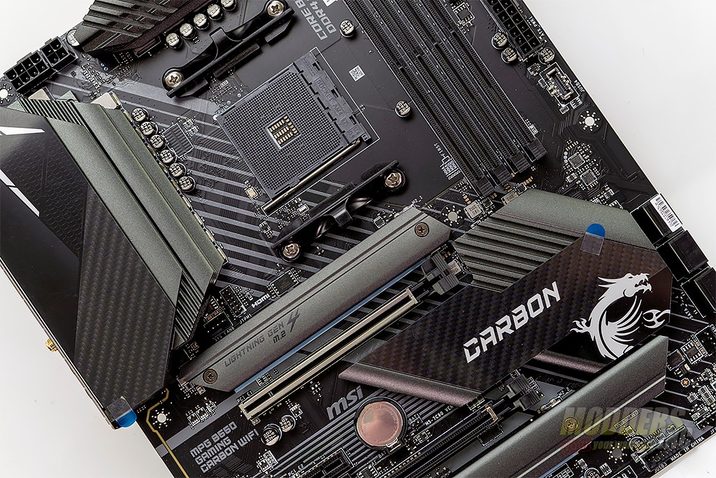 MSI MPG B550 Gaming Carbon WIFI Motherboard Review finale