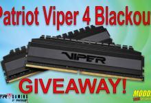 Viper Gaming Viper 4 Blackout DDR4 Memory Giveaway contest, ddr4, giveaway, Patriot, viper 12