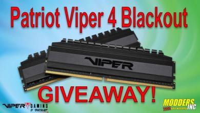 Photo of Viper Gaming Viper 4 Blackout DDR4 Memory Giveaway