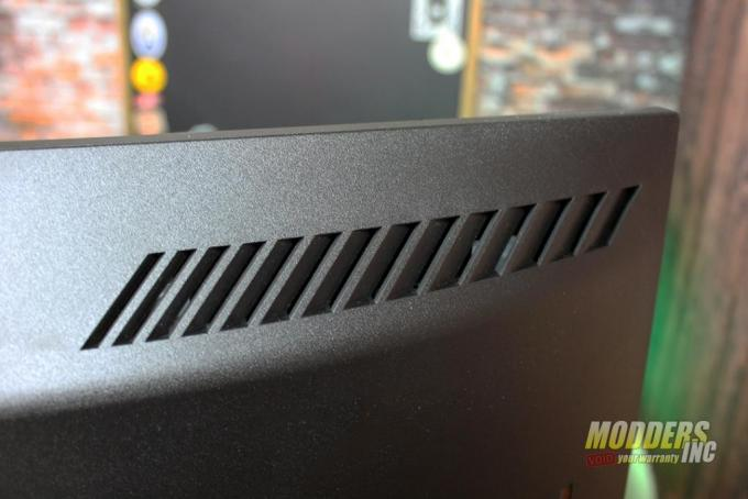 AOC PD27 GAMING MONITOR vents