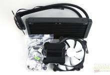 Phanteks First AIO Cooling Solution Glacier One 240 MP AIO, all in one, Cooler, CPU Cooler, D-RGB, First, Phanteks
