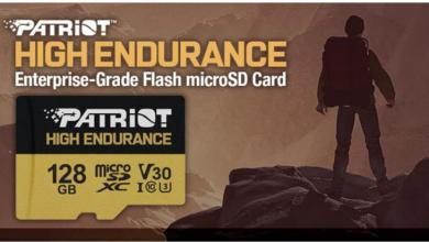 Patriot's EP Series High Endurance microSD