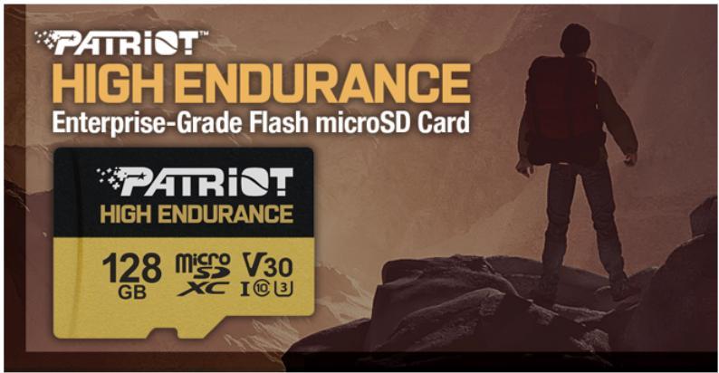 Patriot's EP Series High Endurance microSD