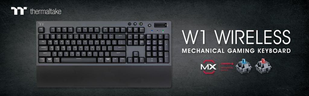 Thermaltake W1 WIRELESS Mechanical Gaming Keyboard