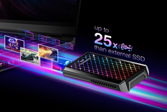 ADATA Launches SE900G RGB External Solid State Drive