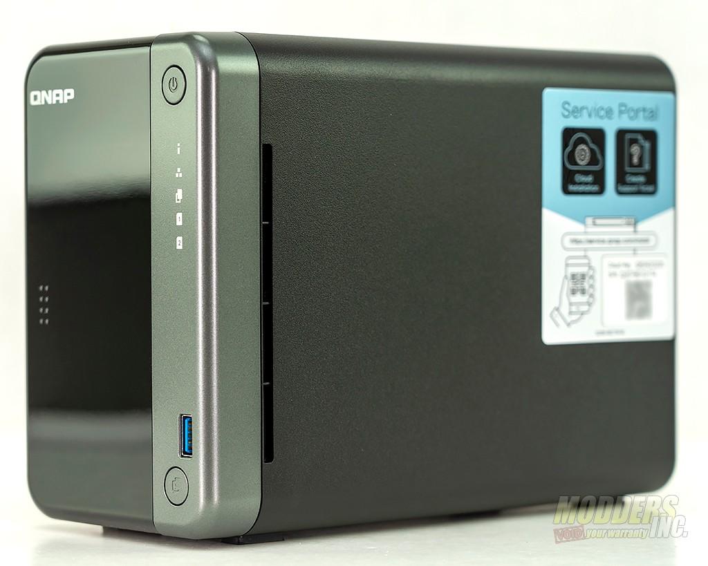 QNAP TS-253D NAS review 2.5 gigabit, dual bay, Intel Celeron, NAS, QNAP 3