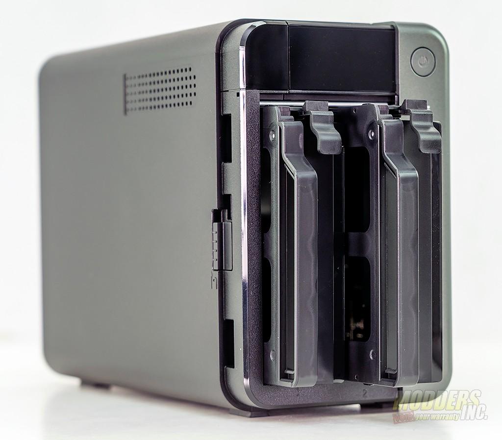 QNAP TS-253D NAS review 2.5 gigabit, dual bay, Intel Celeron, NAS, QNAP 6