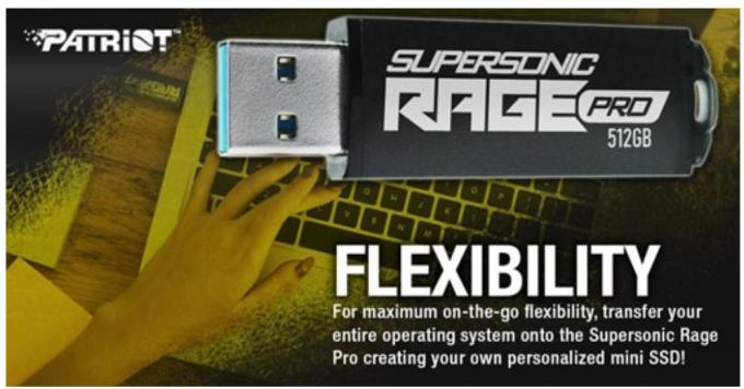 Patriot Supersonic Rage Pro USB