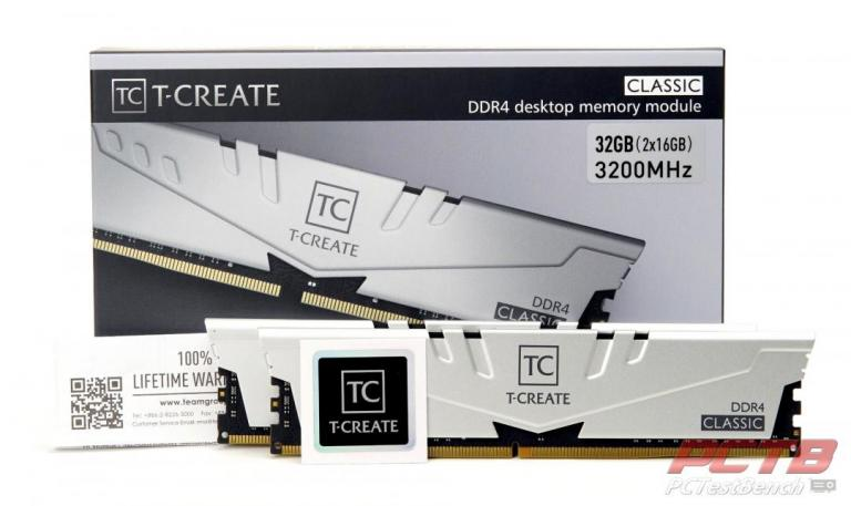 TEAMGROUP T-Create Classic 10L DDR4 Memory Review at PCTestBench