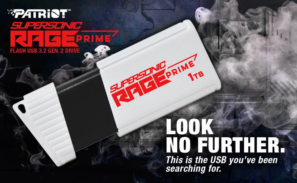 SUPERSONIC RAGE PRIME USB 3.2 Gen 2 Flash Drive