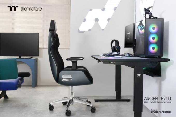 ARGENT E700 Real Leather Gaming Chair office