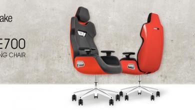 ARGENT E700 Real Leather Gaming Chair Red