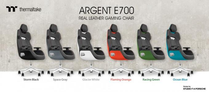 ARGENT E700 Real Leather Gaming Chair