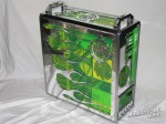 Green Flame Case Mod by Tazz