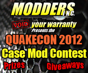 Photo of Case Modders Let's Unite at QuakeCon 2012