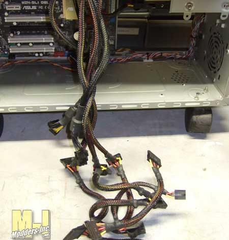 Photo of Computer Case Cable Management