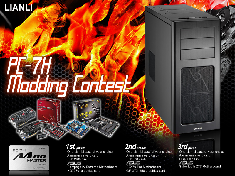 Lian Li PC-7H Modding Contest
