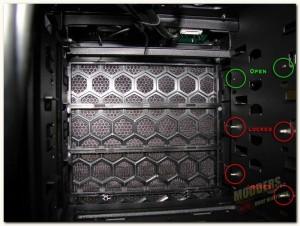 optical locking pins