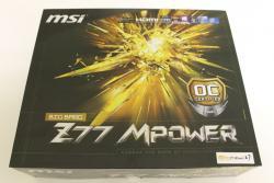 [M] MSI BIG BANG Z77 MPOWER Socket 1155 Mainboard Review Motherboard, MSI 1