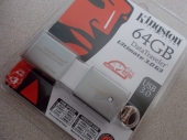 Kingston DataTraveler Ultimate 3.0 G3 64GB USB Thumb Drive | TechwareLabs Kingston 1