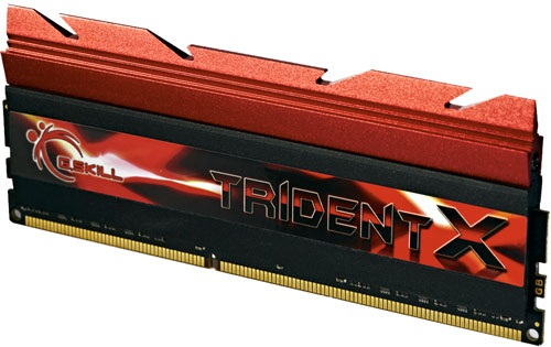 G.SKILL TRIDENTX 8GB 2400C10 Dual Channel RAM Kit Review G.Skill, Memory, Trident X 1