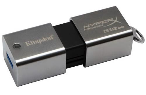 Kingston DataTraveler HyperX PREDATOR 512GB USB 3.0 Flash Drive 1