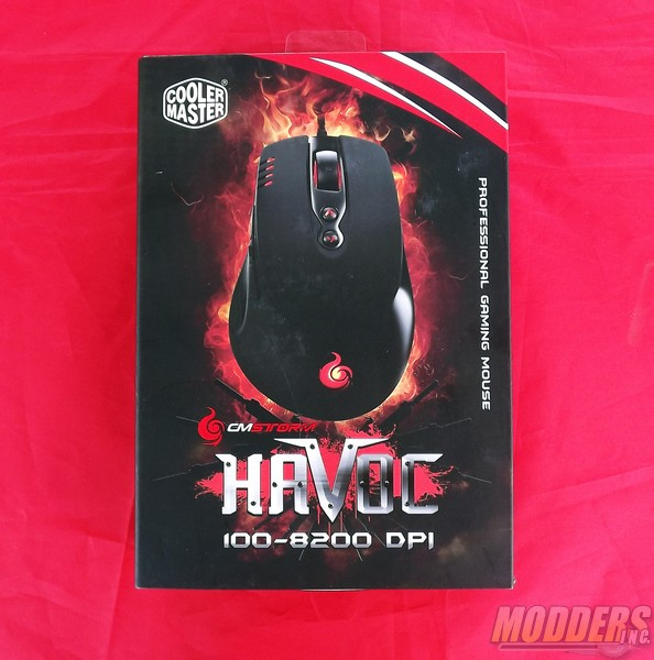 Cooler Master CM Storm HAVOC Pro Gaming Mouse CM Storm, Cooler Master, Gaming Mouse