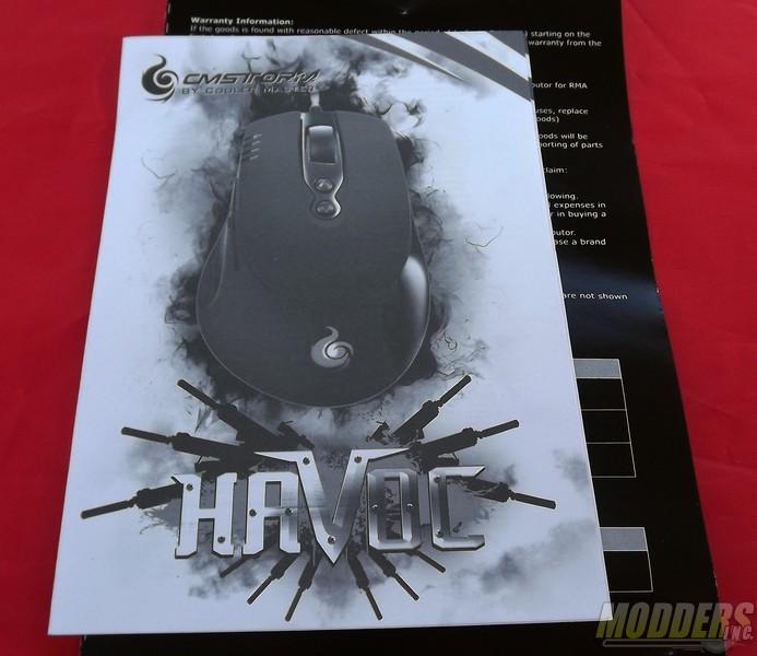 Cooler Master CM Storm HAVOC Pro Gaming Mouse CM Storm, Cooler Master, Gaming Mouse 8