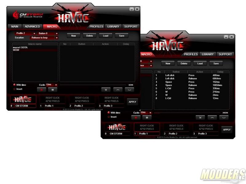 Cooler Master CM Storm HAVOC Pro Gaming Mouse CM Storm, Cooler Master, Gaming Mouse 1