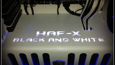 Photo of Cooler Master HAF X Black And White Case Mod