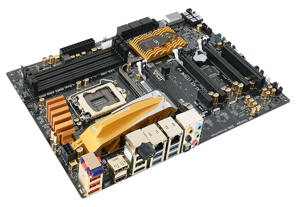ECS Z87H3-A2X (V1.0) GANK Domination Golden Gamer MotherBoard L337 ECS, ECS EliteGroup, Golden, Motherboard 1